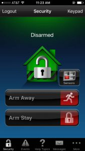 Iphone App for Our Security Camera Systems- Frederick & Montgomery County MD